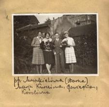Pp. Muszkietówna (starsza), Marja Kurczówna, ?, Korolówna