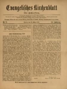 Evangelisches Kirchenblatt für Schlesien, 1921, Jg. 24, Nr. 11