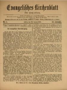 Evangelisches Kirchenblatt für Schlesien, 1922, Jg. 25, Nr. 5