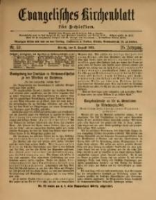 Evangelisches Kirchenblatt für Schlesien, 1922, Jg. 25, Nr. 32