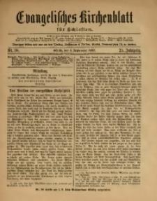 Evangelisches Kirchenblatt für Schlesien, 1922, Jg. 25, Nr. 36