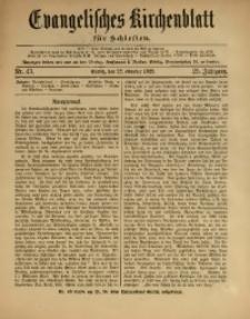 Evangelisches Kirchenblatt für Schlesien, 1922, Jg. 25, Nr. 43