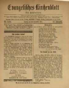 Evangelisches Kirchenblatt für Schlesien, 1922, Jg. 25, Nr. 51/52