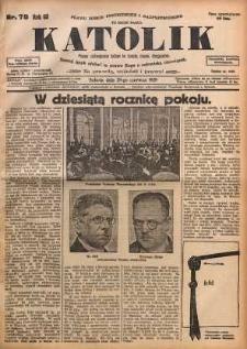 Katolik, 1929, R. 62, nr 78