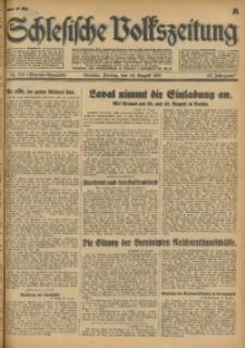 Schlesische Volkszeitung, 1931, Jg. 63, Nr. 374 (Morgen-Ausgabe A)