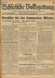 Schlesische Volkszeitung, 1931, Jg. 63, Nr. 395 (Abend-Ausgabe A)