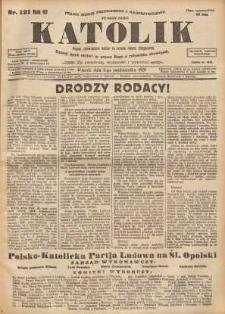Katolik, 1929, R. 62, nr 121