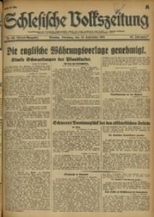 Schlesische Volkszeitung, 1931, Jg. 63, Nr. 441 (Abend-Ausgabe A)