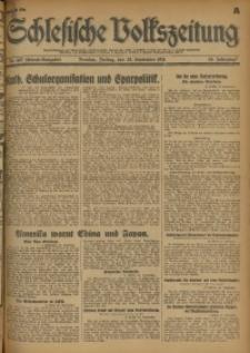 Schlesische Volkszeitung, 1931, Jg. 63, Nr. 447 (Abend-Ausgabe A)