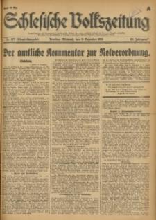 Schlesische Volkszeitung, 1931, Jg. 63, Nr. 572 (Abend-Ausgabe A)