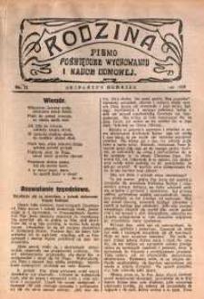 Rodzina, 1929, nr 11
