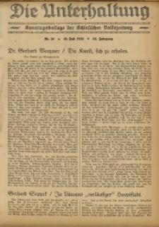 Die Unterhaltung, 1931, Jg. 63, Nr. 30