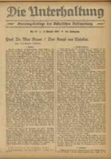 Die Unterhaltung, 1931, Jg. 63, Nr. 31