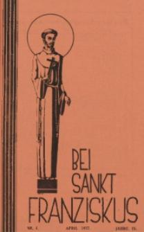 Bei Sankt Franziskus, 1937, Jg. 4, Nr. 4