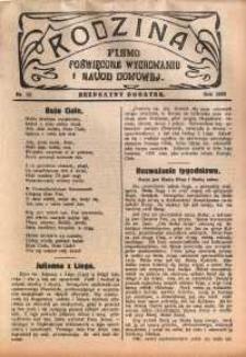 Rodzina, 1929, nr 22