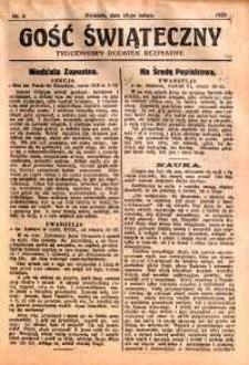 Gość Świąteczny, 1929, nr 6