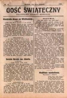 Gość Świąteczny, 1929, nr 15