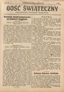 Gość Świąteczny, 1929, nr 41