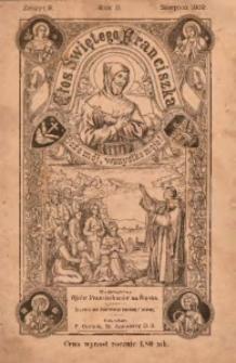 Głos Świetego Franciszka, 1909, R. 2, z. 8