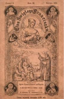 Głos Świetego Franciszka, 1910, R. 3, z. 3