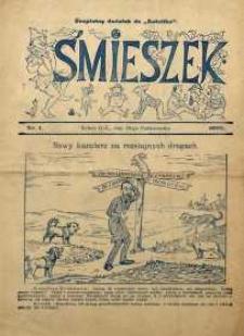 Śmieszek, 1909, nr 1