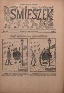 Śmieszek, 1910, nr 10