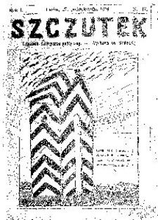 Szczutek, 1918, R. 1, nr 17