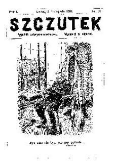Szczutek, 1918, R. 1, nr 18