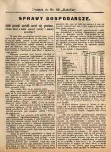 Sprawy Gospodarcze, 1891, nr 5
