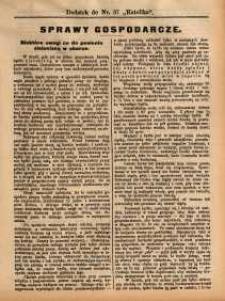 Sprawy Gospodarcze, 1891, nr 8