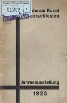 Jahresausstellung 1926 des Bundes für bildende Kunst in Oberschlesien