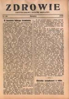 Zdrowie, 1928, nr 20