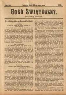 Gość Świąteczny, 1913, nr 26