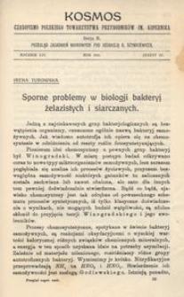 Kosmos. Serja B, 1929, R. 54, z. 4