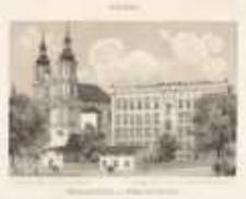 Neisse. Realschule und Kreuzkirche