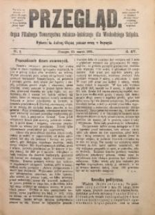 Przegląd. Organ Filialnego Towarzystwa Rolniczo-Leśniczego dla Wschodniego Szląska, 1901, R. 15, nr 5