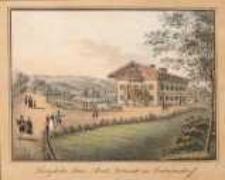"""Königliches Bau """"Amst"""" Gebäude zu Erdmannsdorf"""