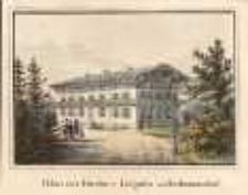 Palais der Fürstin v[on] Liegnitz zu Erdmannsdorf