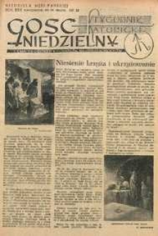 Gość Niedzielny, 1952, R. 25, nr 13