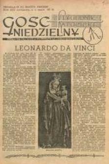 Gość Niedzielny, 1952, R. 25, nr 19