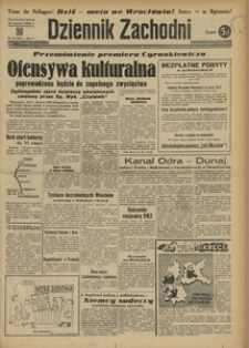 Dziennik Zachodni, 1948, R. 4, nr 178