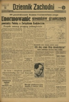 Dziennik Zachodni, 1948, R. 4, nr 321