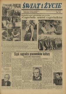 Świat i Życie, 1948, R. 3, nr 23