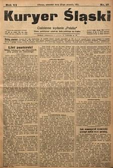 Kuryer Śląski, 1914, R. 6 [właśc. 8], nr17