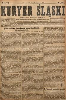 Kuryer Śląski, 1914, R. 6 [właśc. 17], nr33