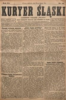 Kuryer Śląski, 1914, R. 6 [właśc. 8], nr43