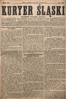 Kuryer Śląski, 1914, R. 6 [właśc. 8], nr91
