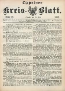 Oppelner Kreis-Blatt, 1899, St. 19