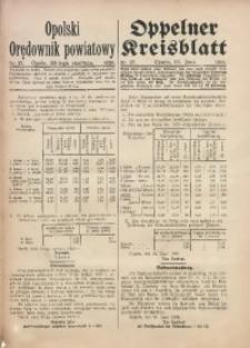 Opolski Orędownik Powiatowy, 1920, nr 27