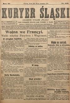 Kuryer Śląski, 1914, R. 6 [właśc. 8], nr216